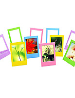 3-Zoll-Tisch Bilderrahmen / Minirahmen für Fujifilm Instax mini 8 / 7s / 90/25 / 50s / 70-Film, 10 Stück