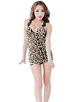 Women's Leopard Lace Sexy Temptation Suits