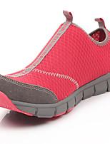 Zapatos Senderismo Ante / Tul Negro / Azul / Amarillo / Morado / Rojo / Negro y Rojo Unisex