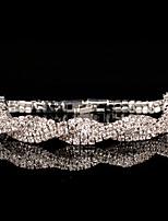 Zilver Dames Ketting Armbanden Bergkristal