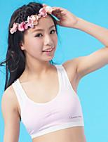 XLY Development Puberty Teenagers Girl's Comfortable Cotton Wireless Sports Bra Underwear. Item. Thin Cup Bra.Code 6014