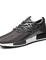 Men's Sneakers Summer Flats Tulle Braided Strap Black / Blue / White / Gray Running