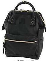 Women-Casual-PU-Backpack-White / Blue / Brown / Black