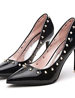 Women's Shoes Leatherette Spring / Summer / Fall Heels Heels Wedding / Party & Evening / Dress Stiletto Heel