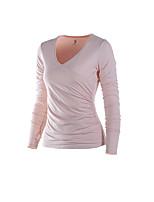 Running T-shirt Women's Quick Dry / Sweat-wicking Running Sports Sports Wear White / Bisque