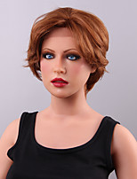 Top Quality Comfortable Short  Lace Front Human Hair Wig