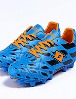 Men's Shoes Leatherette Outdoor / Athletic Sneakers Outdoor / Athletic Running Flat Heel Gore Light Green / Royal Blue