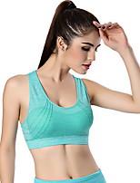 Deportes®Yoga Tops Transpirable / Suave Eslático Ropa deportiva Yoga / Pilates / Running Mujer