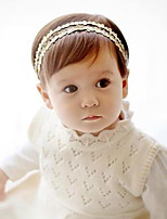 Girls Hair Accessories,All Seasons Cotton Blends Gold / Silver