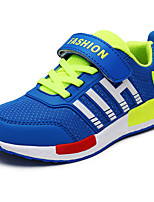 Girl's Athletic Shoes Fall Flats Tulle Athletic Flat Heel Others Black / Blue / Red / Royal Blue Sneaker