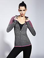 Laufen Oberteile / Sweatshirt Damen Langärmelige Atmungsaktiv / Rasche Trocknung Terylen Yoga / Fitness / Laufen Sport Sportbekleidung