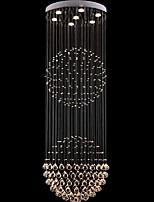 LightMyself™ Luxury Crystal Chandelier Modern Pendant Lights Bulb Included 7 Lights