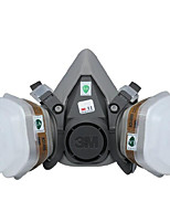 Industrial Protective Dust  Gas Masks(Material:Rubber & Plastics ;Replacement: Cartridges, Cotton Filters)