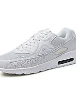 Белый-Унисекс-На каждый день-Полиуретан-На плоской подошве-Удобная обувь-Кеды
