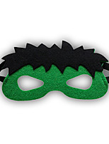 Girls / Boys Cartoon Hero / Halloween Mask, All Seasons Polyester Green