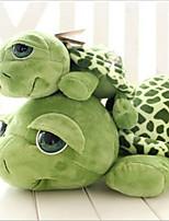 Cat / Dog Toy Pet Toys Plush Toy Tortoise Cotton Green
