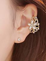 Earring Wings/Feather Jewelry Women Adorable / Rock Daily / Casual Alloy 1pc Gold / Silver