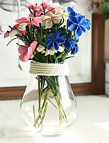 Hi-Q 1Pc Decorative Flower Phalaenopsis Wedding Home Table Decoration Artificial Flowers