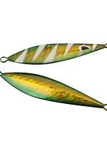 1 pc Esche rigide / Esca metallica Rosso / Giallo / Verde vetro 120 g/> 1 Oncia,115 mm/4-1/2