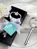 Beter Gifts® Recipient Gifts - Chrome Key to My Heart Wine Bottle Opener Wedding Favors