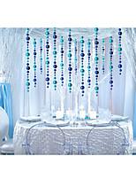 Polyethylen Hochzeits-Dekorationen-1piece / Set Verzierungen Weihnachten / Neujahr rustikales Theme Rot / Silber / Grün / Blau / Gold