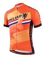 Miloto® Cycling Jersey Women's / Men's / Kid's / Unisex Short Sleeve BikeBreathable / Quick Dry / Front Zipper / YKK Zipper / Reflective