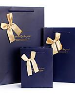 среднего класса подарок мешок бумажный мешок вертикальная версия коммерция Мешки благосклонности мешков луки мешок подарка D05