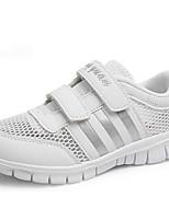 Boy's / Girl's Sneakers Spring / Fall Comfort PU Casual Flat Heel Magic Tape White