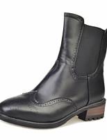 Dames Laarzen WinterPlatform / Platte schoenen / Comfortabel / Legerlaarzen / Korte laarsjes / Ronde neus / Paardrijlaarzen / Modieuze