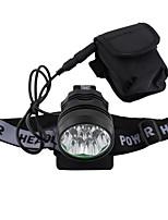 Lampes Torches LED LED 3 Mode 5000 Lumens Rechargeable / Taille Compacte / Ultra léger Cree T6 18650Camping/Randonnée/Spéléologie /