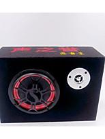 5 Inch Square Cloth Car Subwoofer 12V220V Active Sound Card U Disk Car Speaker Computer Speakers