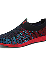 Men's Loafers & Slip-Ons Spring / Fall Comfort Tulle Casual Flat Heel Others Blue / Green / Orange / Black and Red Walking