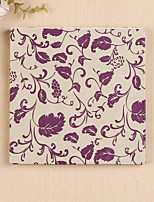 100% virgin pulp 20pcs Purple Wedding Napkins