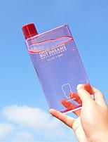 extraño nuevos productos de mini portátil de gran capacidad A6 libreta hervidor de plástico transparente delgada