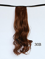 Fashion Women Clip In Ribbon Ponytail Hairpieces Synthetic Hair Tail Drawstring Ponytail Hair Extensions Ponytail Hair