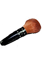 1 Blush Brush / Powder Brush Synthetic Hair Portable Wood Face Others