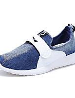 Herren-Sneaker-Outddor / Lässig-Leinwand-Niedriger Absatz-Komfort-Blau