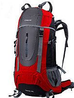 60L L Backpack Camping & Hiking / Traveling Outdoor Multifunctional Red / Blue / Light Green Nylon 柯瑞普