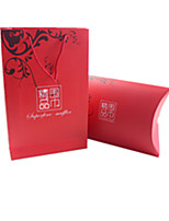 Red Color, Other Material Packaging & Shipping Scarves Box A Pack of Two