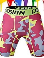 Homme Course / Running Pantalon/Surpantalon Leggings Respirable Confortable Printemps Eté Automne Course/Running Coton Chinlon Ample