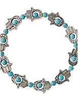 Strand Bracelets 1pc,Fashionable Circle Green Alloy Jewelry Gifts