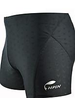 Quick-drying Black Wenquan Ping angle Swim Trunks Fashion High Elastic
