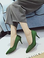 Women's Heels Fall Heels / Pointed Toe Suede Casual Stiletto Heel Others Black / Green / Red / Gray / Camel Others