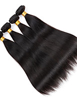 8-26inch Brazilian Virgin Remy Hair Silky Straight 3Pcs/Lot  Natural Color Unprocessed Human Hair Extensions