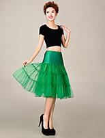 Slips(Tülle / Polyester,Grün) -S:65cm,M:65cm,L:65cm-3-Abendkleid