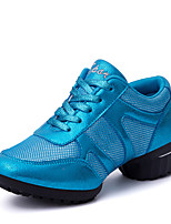 Non Customizable Women's Dance Shoes / Fabric Leatherette / Fabric Dance Sneakers / Sneakers Flat HeelPractice