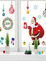 Christmas Window Sticker Contemporary , Art Deco 110*220CM