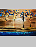 Modern Abstract Hand Painted Tree Oil Paintings On Canvas Wall Art Pictures With Stretched Frame Ready To Hang 80x120cm