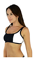 Split Bikini Suits wrapped Chest Zipper