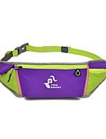 Поясные сумки Пояс Чехол для Отдых и туризм Бег Спортивные сумки Водонепроницаемый Пригодно для носки Закрыть Body Сумка для бега 0-10L